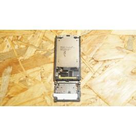 Capa Slide Completo Preto Sony Ericsson W395