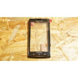 Capa Frontal C/ Touch Preto Sony Ericsson X10