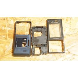 Capa Completa S/ Tampa de Bateria Azul Escuro Sony Ericsson K810i