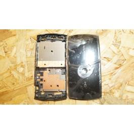 Capa Completa S/ Touch Preta Sony Ericsson U5