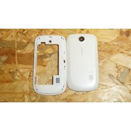 Capa Middle Cover & Tampa de Bateria Branca Huawei G6608