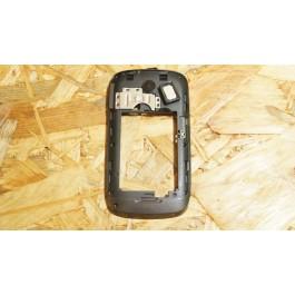 Capa Middle Cover Preta Huawei G6600