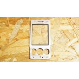 Capa Frontal S/ Teclado Prata Sony Ericsson W715