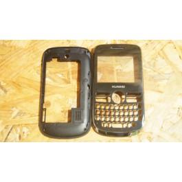 Capa Frontal & Middle Cover Preta Huawei G6608