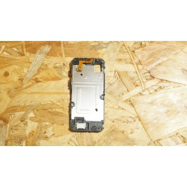 Capa Frame de LCD Preto Nokia 5530