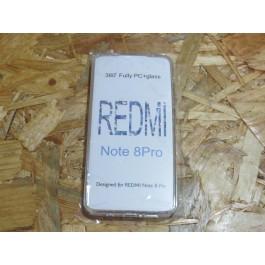 Capa Silicone Transparente 360 Xiaomi Redmi Note 8 Pro