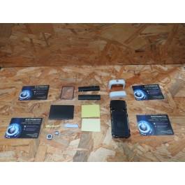 Capa Completa Preta & Branca S/ Teclado Nokia 5700