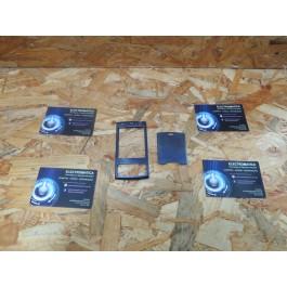 Capa Frontal & Tampa de Bateria Azul Nokia N95 Compativel