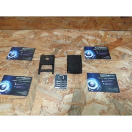 Capa Frontal & Tampa de Bateria C/ Teclado Preto Nokia 6500c