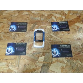 Capa Frontal Branca & Azul Nokia 5200