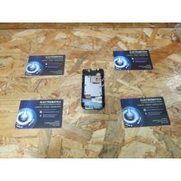 Capa Middle Cover Preta Nokia 5200 / Nokia 5300