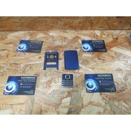 Capa Frontal & Tampa de Bateria C/ Teclado Azul Nokia 6500c
