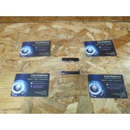 Top & Down Cover do LCD Preto / Vermelho Nokia X6