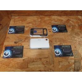 Capa Frontal & Tampa de Bateria Branca Nokia 6760s