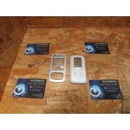 Capa Frontal & Tampa de Bateria Branca Nokia 6110n