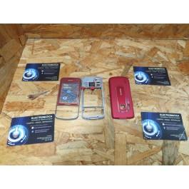 Capa Completa S/ Teclado Vermelha Nokia 6210n