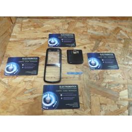 Capa Frontal & Cover VGA Preta Nokia 5320