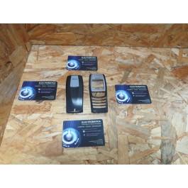 Capa Frontal & Tampa de Bateria Preta Nokia 6610