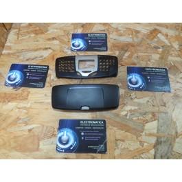 Capa Frontal & Tampa de Bateria Preta Nokia 5510 Compativel