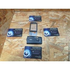 Capa Frontal & Tampa de Bateria Preta Nokia 6260s