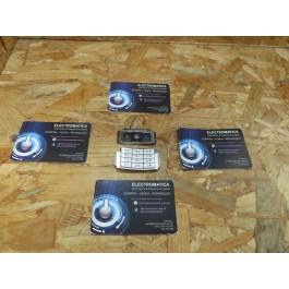 Teclado Completo Nokia N95 Preto & Cinza Original