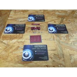 Teclado Completo Sony Ericsson W715 Rosa Original
