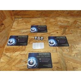 Teclado Completo Sony Ericsson W910 Branco Original