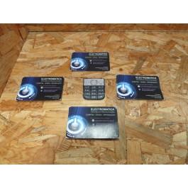 Teclado Inferior Nokia C2-02 Preto Original