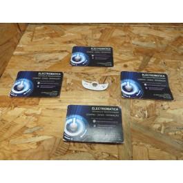 Teclado Samsung C3510 Branco Original