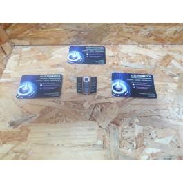 Teclado Nokia 2600c Preto & Laranja Original