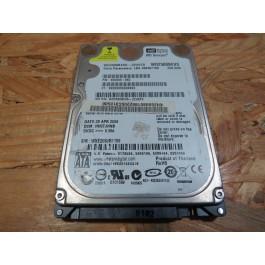 Disco Rigido 250Gb Western Digital WD2500BEVS SATA 2.5 Recondicionado Ref: WD2500BEVS-22UST0