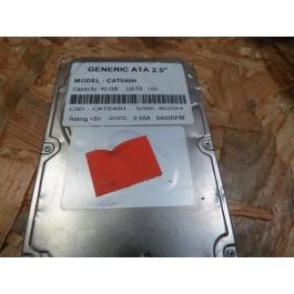 Disco Rigido 40Gb CAT040H IDE 2.5 Recondicionado Ref: CSD-CAT040H