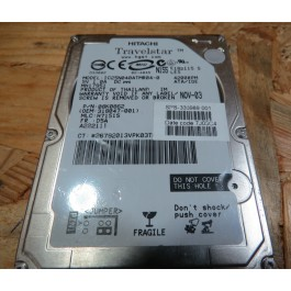 Disco Rigido 40Gb Hitachi IC25N04 IDE 2.5 Recondicionado Ref: 336889-001