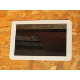Modulo Completo Branco C/ Frame Prestigio Multipad Recondicionado Ref: E-C100016-02 / KD101N4-40NA-A7