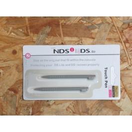 Touch Pen Nintendo DS Lite Pack de 2 Cinzento