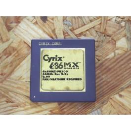 Processador Cyrix 6x86MX-PR200 166 / 66 Socket SPGA296 Recondicionado