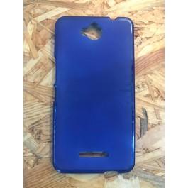 Capa Silicone Azul Vodafone Smart 4 Max