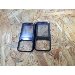 Tampa Frontal Preta Original Nokia 5610 Ref: 0250125