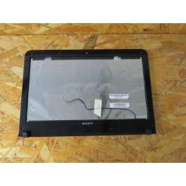 Bezel LCD & Back Cover LCD Sony Vaio SVE141L11L Recondicionado Ref: EAHK6003020