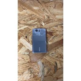 Tampa de Bateria Cinza Metal Original Nokia 6600is Ref: 0255248