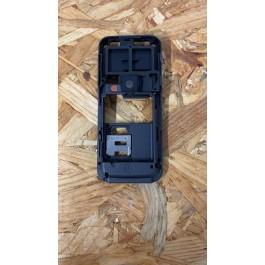 Chassis Preta Original Nokia 6124 Ref: 0252608