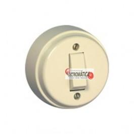 Interruptor Efapel Unipolar Marfim 26011 CMF
