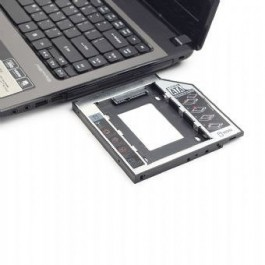 Adaptador Gembird 2.5´ HDD/SSD para 5.25´ Drive Portátil