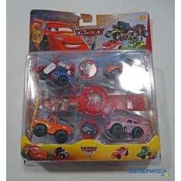 Pack de brinquedos Cars 3