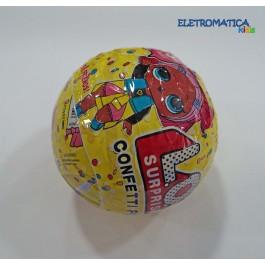Bola LOL Surprise Confetti Pop Amarela