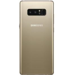 Tampa de Bateria Dourada Samsung Note 8